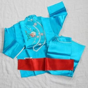 Child's 3 Piece Chinese Silk Outfit - Traditional